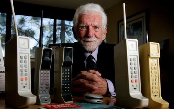 Martin Cooper and phones
