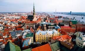 Riga city center