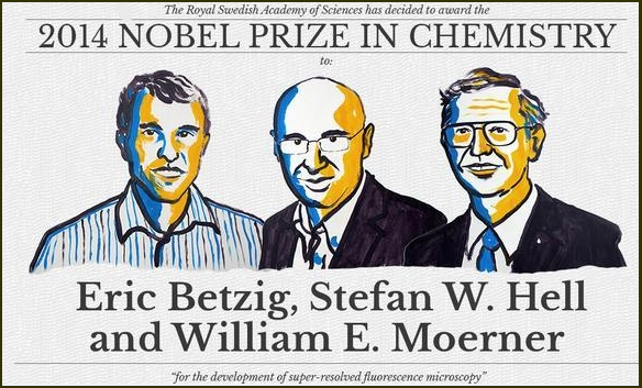 Eric Betzig, Stefan W. Hell, William E. Moerner